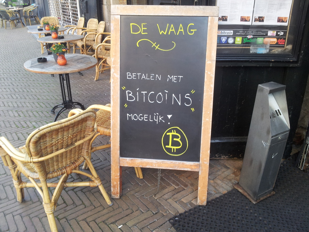 Bitcoins are accepted in this cafe
